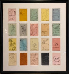 Holy Cats by Andy Warhol, 1954
