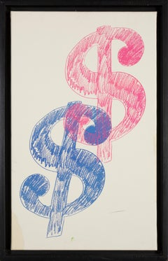 Andy Warhol, 1980 Double Dollar Sign