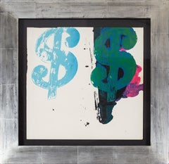 Andy Warhol Double Dollar Sign, 1980