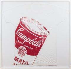 "Andy Warhol, 1962  ""Campbell's Soup Can T-shirt"""