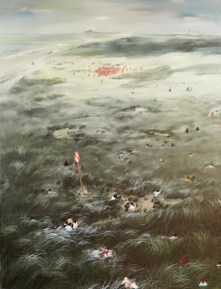 Zhou Jinhua - The Golden Age, 2008  - Painting by Zhou Jinhua
