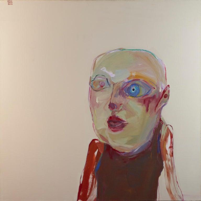 Meng Yang Yang - Little Girl No. 12, 2006  - Painting by Meng Yang Yang