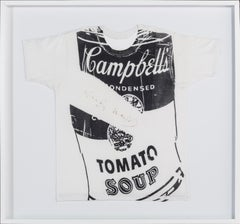 "Andy Warhol, 1980  ""Campbell's Soup Can T-shirt"""