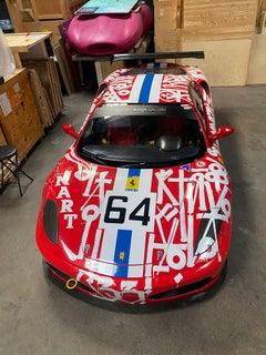 Ferrari F430 NART Racecar - Painted by RETNA