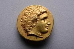 Superb Ancient Greek Gold Stater Coin of Philip II