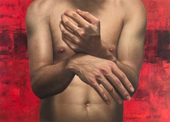 Tools Of Creation I - Contemporary Hyper Realist Oil Painting Male