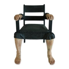 Figurative Contemporary Object - Chair with legs