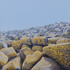 Ameland I - Contemporary Hyper Realist Landscape Acrylic Painting