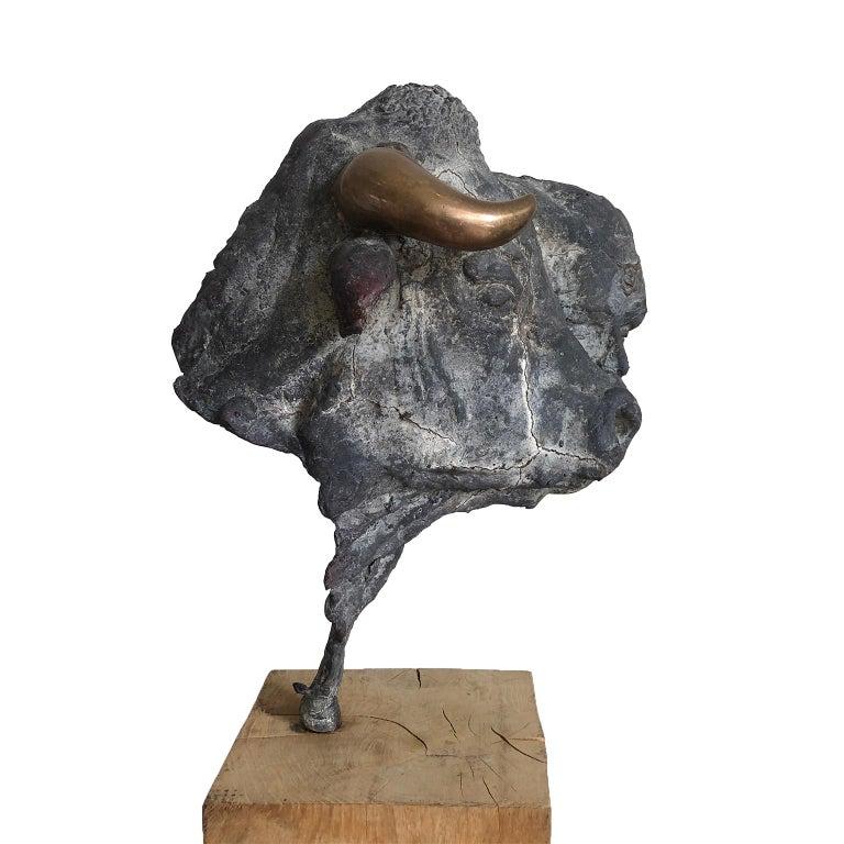 Figurative Bronze Contemporary Sculpture: Europa e il Toro For Sale 2