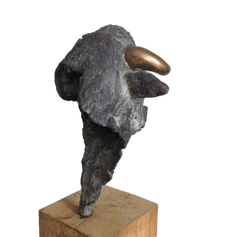Figurative Bronze Contemporary Sculpture: Europa e il Toro For Sale 3