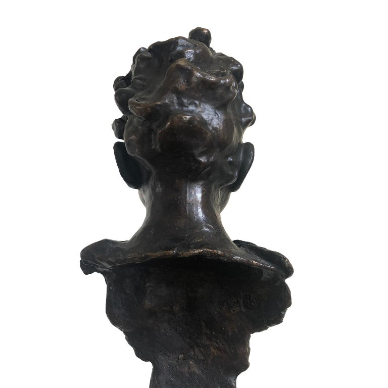 Figurative Bronze Contemporary Sculpture: IL Giovane Cesare For Sale 1