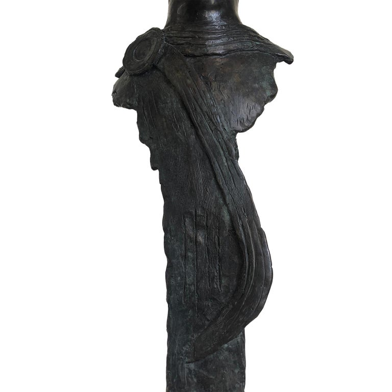 Figurative Bronze Contemporary Sculpture: IL Giovane Cesare For Sale 7