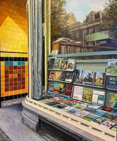 Contemporary Hyper Realist Cityscape: Boekhandel Leliegracht (Amsterdam)