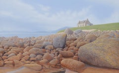 Oileán Acla - Contemporary Hyper Realist Landscape Acrylic Painting