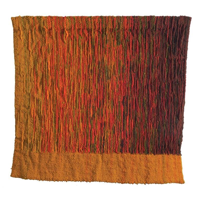 Refleksy (Reflexes), flax (linen) and wool, 50