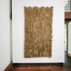 Exotica Series, Abstract Woven Tapestry, Textile Sculpture