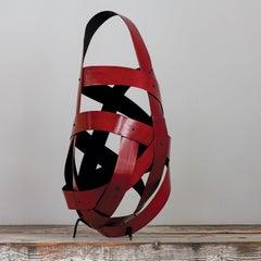 Quiet Dance, Jiro Yonezawa, Abstract Bamboo Sculpture
