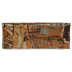 Stony Signs, Mid-Century Modern Abstract Woven Tapestry, Textile Wall Sculpture