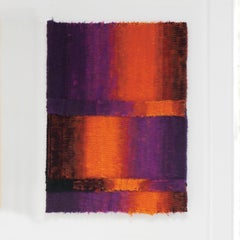 Eclatede Braise, Mid-Century Abstract Woven Tapestry
