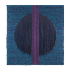 Hommage a Rothko, Mid-Century Geometric Abstract Woven Tapestry