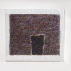 P. Kasuri No 76, Contemporary Japanese Abstract Woven Silk Tapestry
