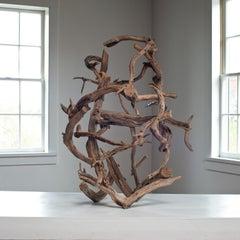 """Dry Land Drifter"" organic, abstract tree sculpture"