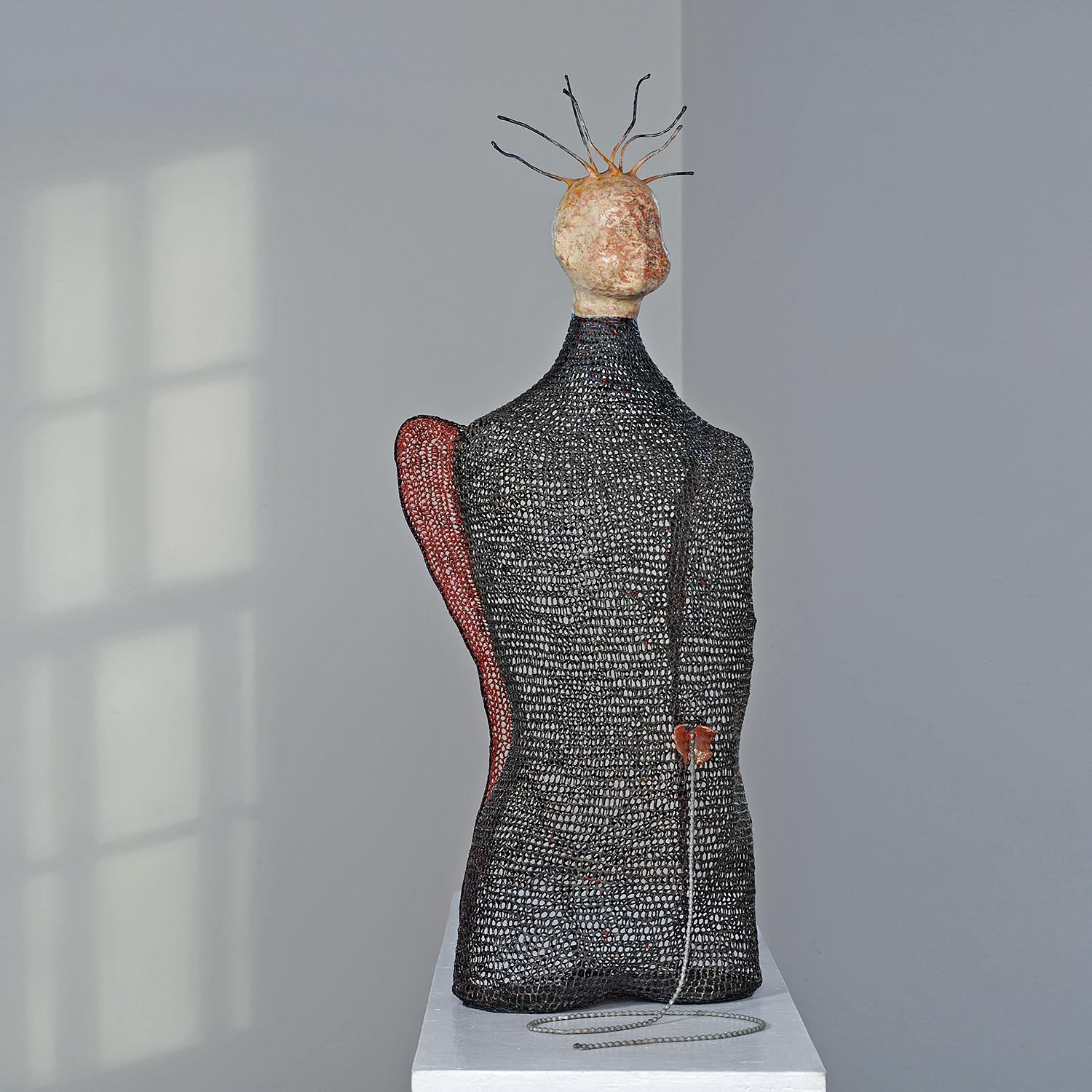 """""""I Remember"""" Norma Minkowitz, Contemporary mixed media textile sculpture"""