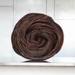 Wheel, Christine Joy, Contemporary Abstract Woven Willow Sculpture