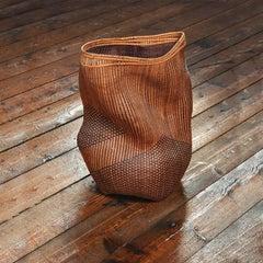 Shady Lane, Abstract Cedar Basket, Polly Adams Sutton