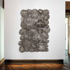 Sen Man Na Yuta, Contemporary Japanese Woven Wall Sculpture by Kyoko Kumai
