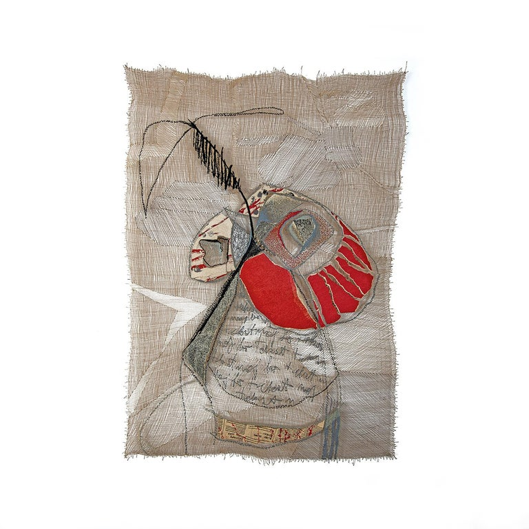 B'Still Life, Contemporary Textile Wall Hanging by Anda Klancic For Sale 3