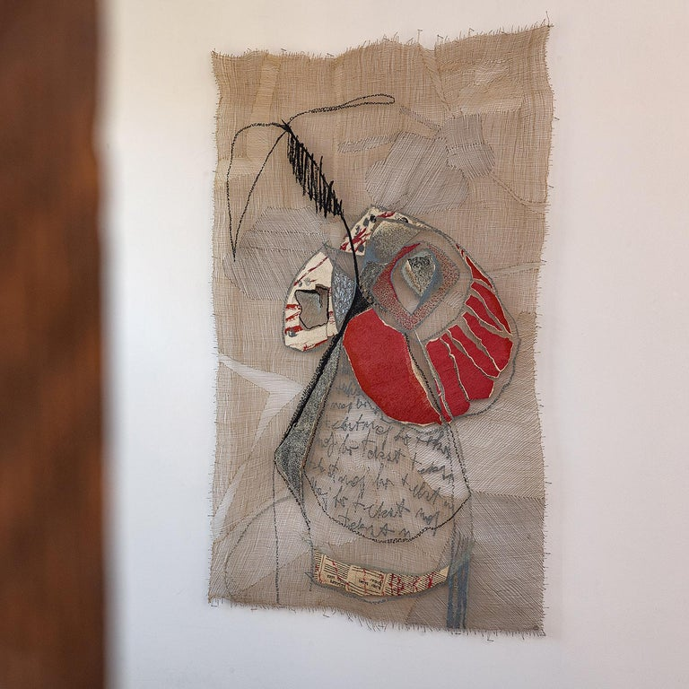 B'Still Life, Contemporary Textile Wall Hanging by Anda Klancic For Sale 2