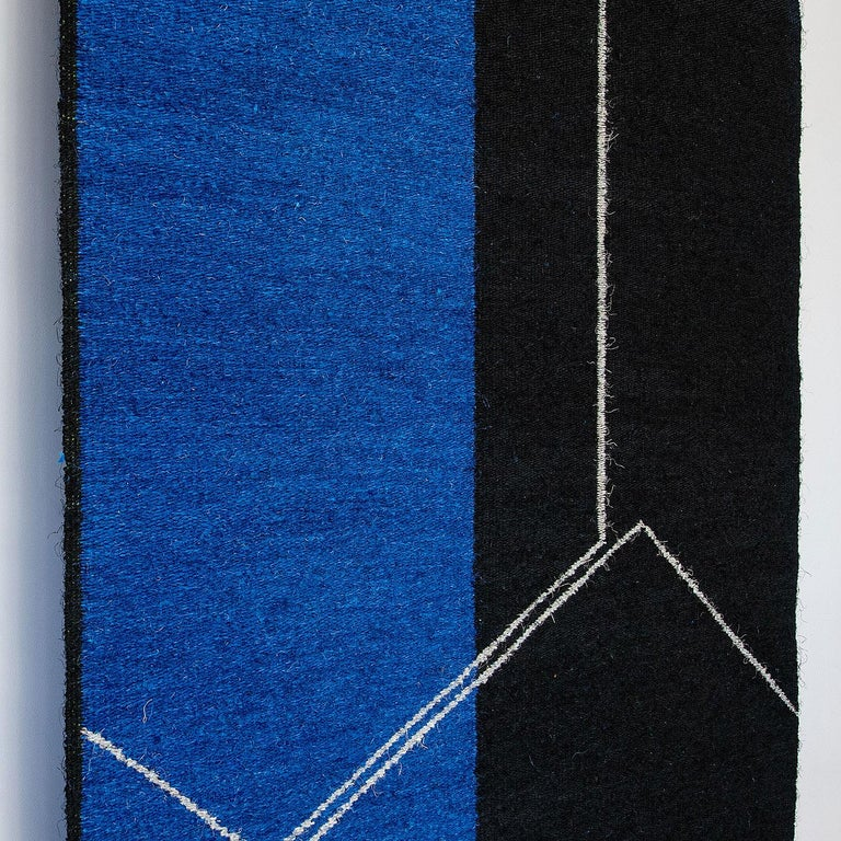 Form on Black and Blue, Gudrun Pagter,