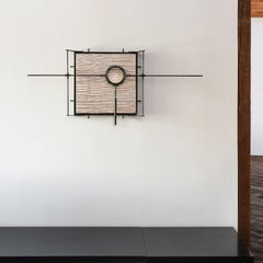 Tool for Revealing Lost Information, wall sculpture by Lawrence LaBianca