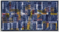 """""""Abstract"""" Neha Puri Dhir, Contemporary Hand-dyed Textile"""
