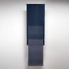 Azul, Carolina Yrarrázaval, handwoven textile