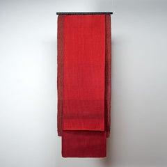 Tonos Rojos, Carolina Yrarrázaval, handwoven textile
