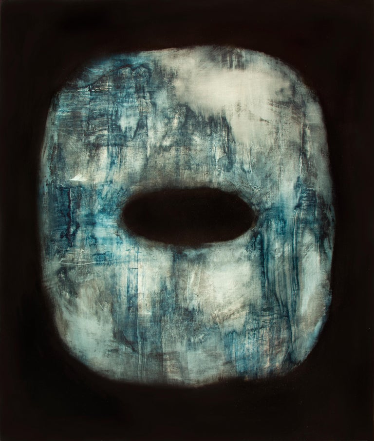 Alexandre Valette Interior Painting - Tsuba - Contemporary Abstract Oil Painting