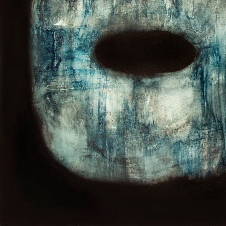 Tsuba - Contemporary Abstract Oil Painting For Sale 4