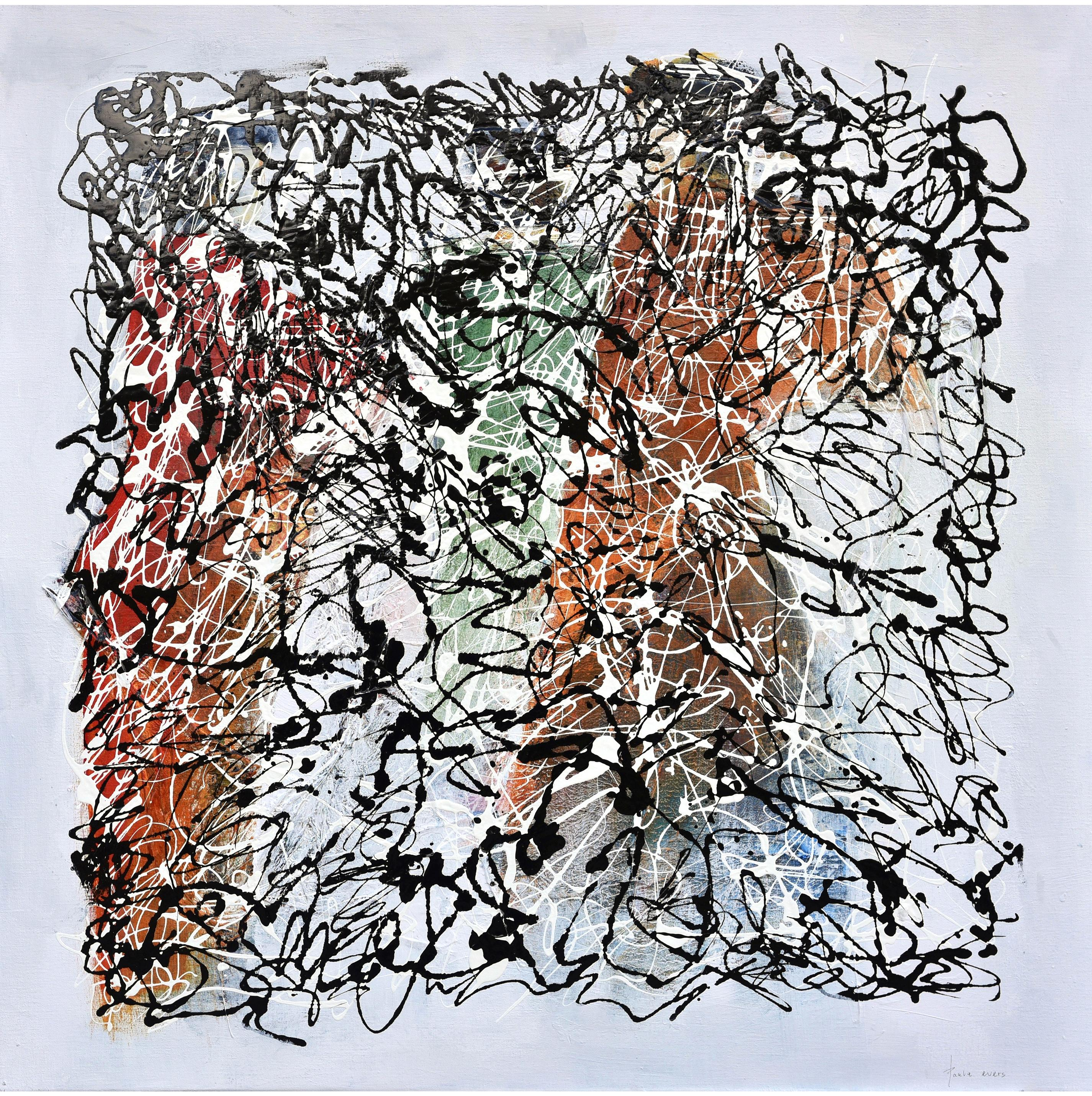 Energy VII in the style of J. Pollock