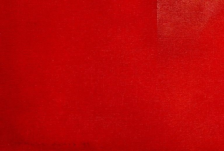 Dutch Landscape Red I For Sale 2