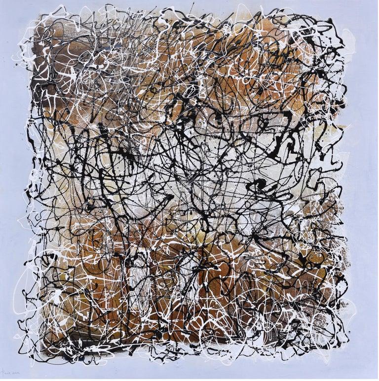Paula Evers Abstract Painting - Energy VIII