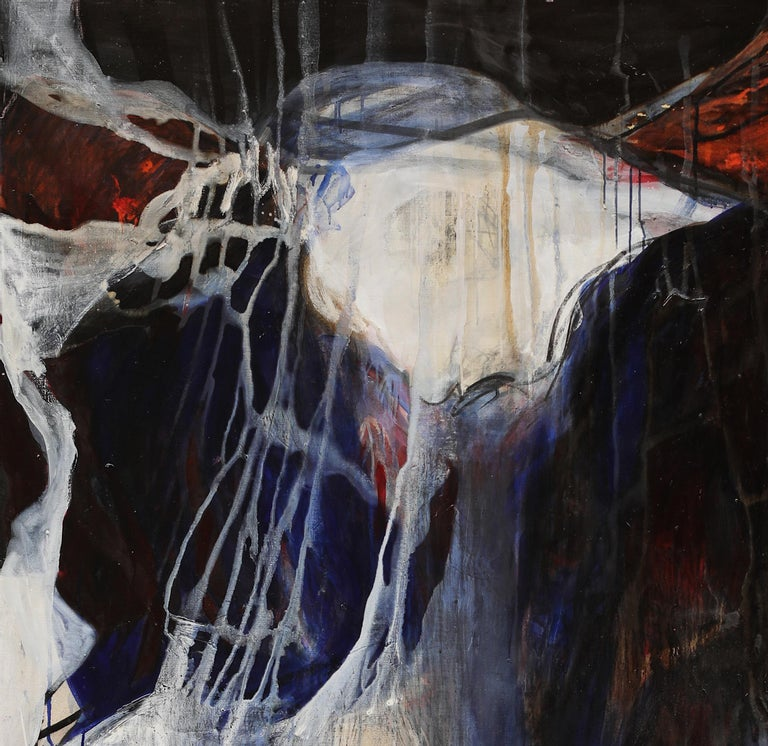 Look at me - Neo-Expressionist Painting by Gala Csaky