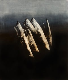 Syndactyly - Contemporary Abstract Oil Painting