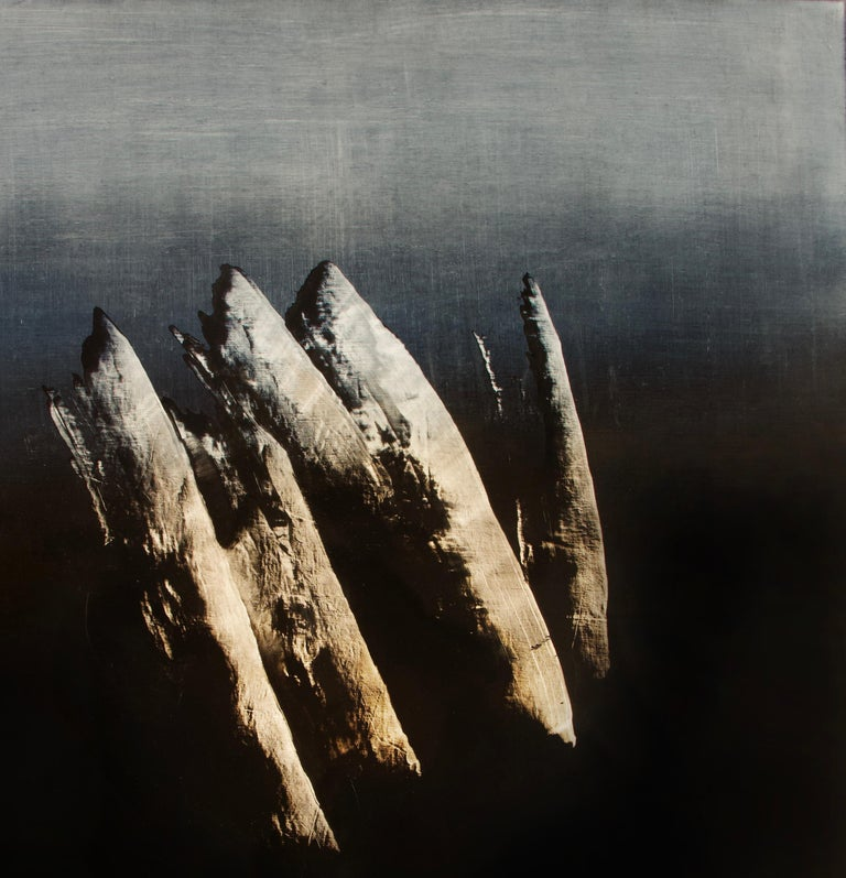 Syndactyly - Contemporary Abstract Oil Painting For Sale 5