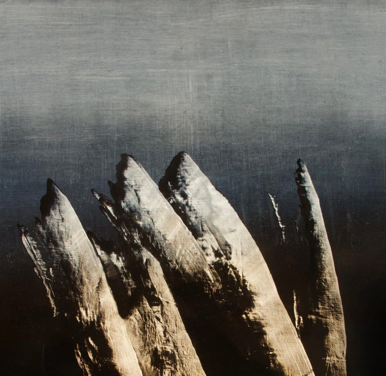 Syndactyly is a Contemporary Abstract Oil Painting by Alexandre Valette who has a master degree in Art History and is a complete artist, influenced by the work of the great masters. He explores from a young age drawing through the human anatomy and