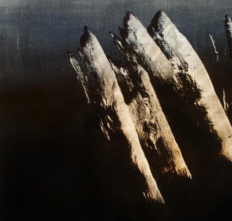 Syndactyly - Contemporary Abstract Oil Painting For Sale 2