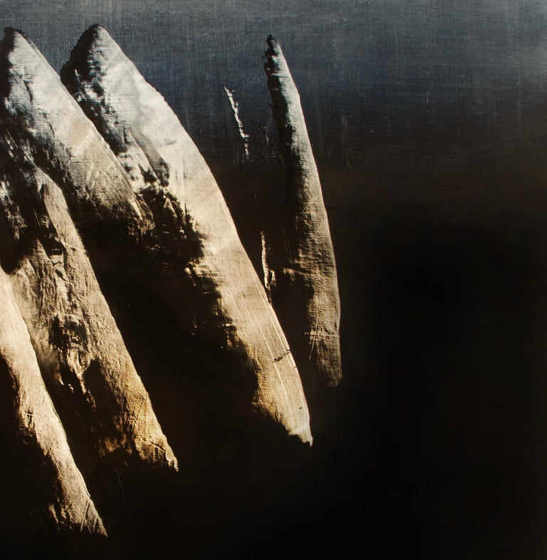 Syndactyly - Contemporary Abstract Oil Painting For Sale 1