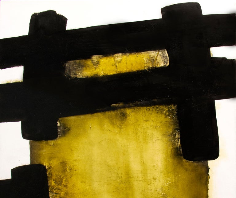 White Eolithe, Contemporary Abstract Oil Painting For Sale 2
