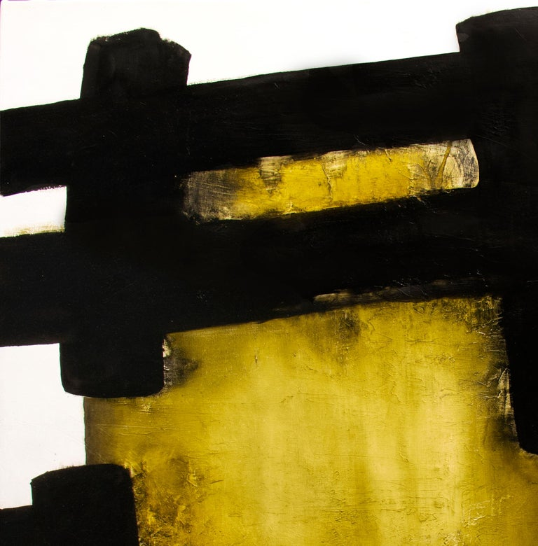White Eolithe, Contemporary Abstract Oil Painting For Sale 4